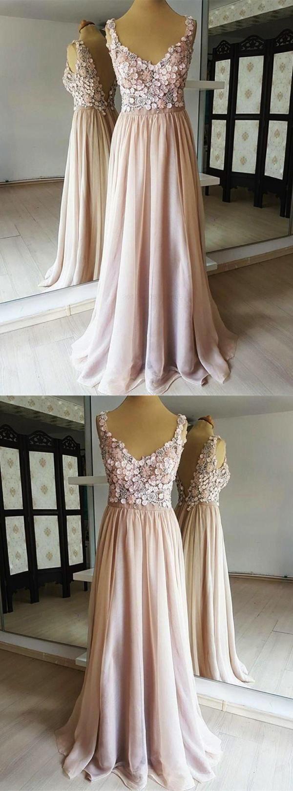 Hot sale feminine champagne open back lace chiffon in prom