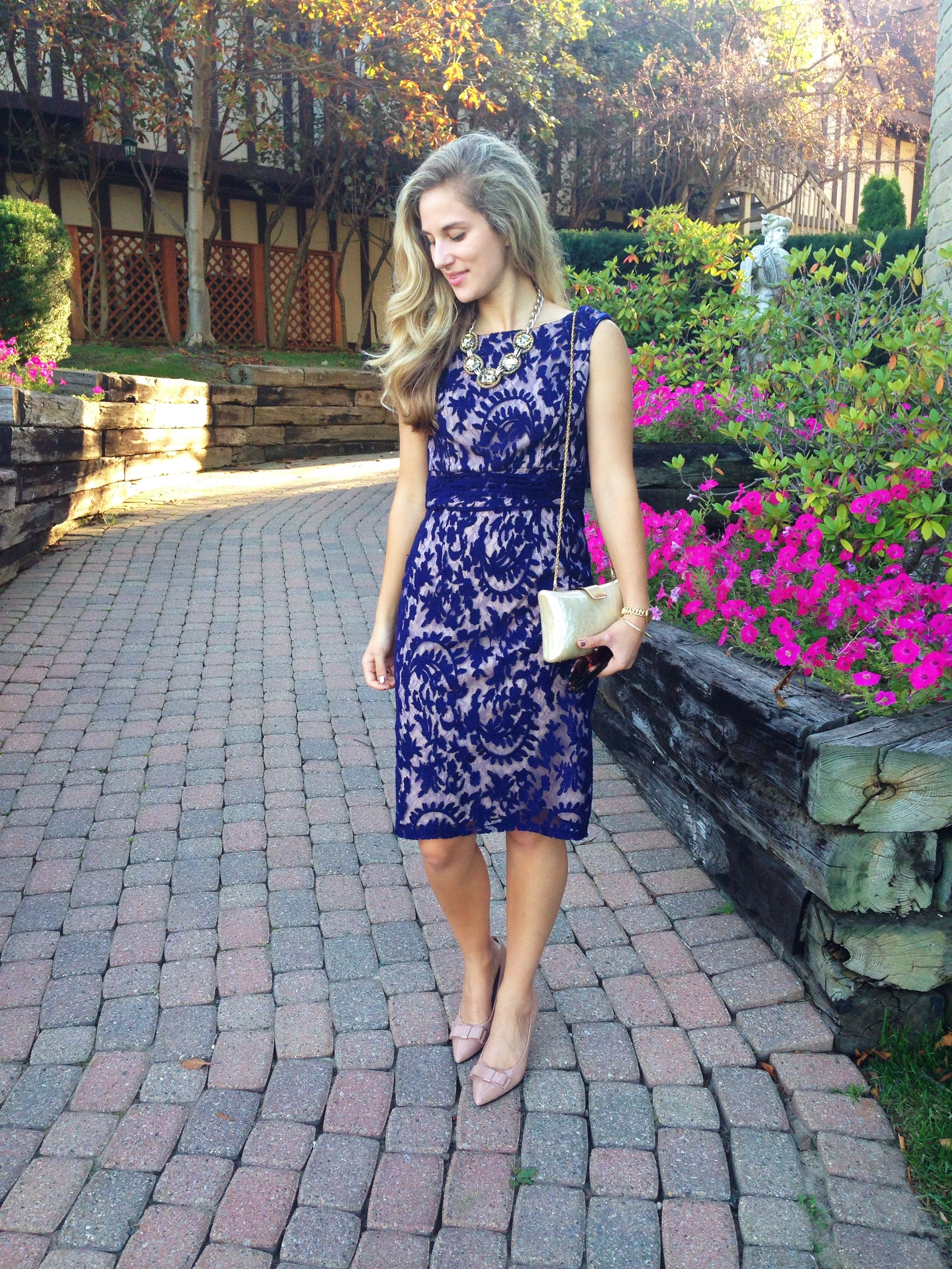 What to Wear to a Fall Wedding Fall wedding guest dress