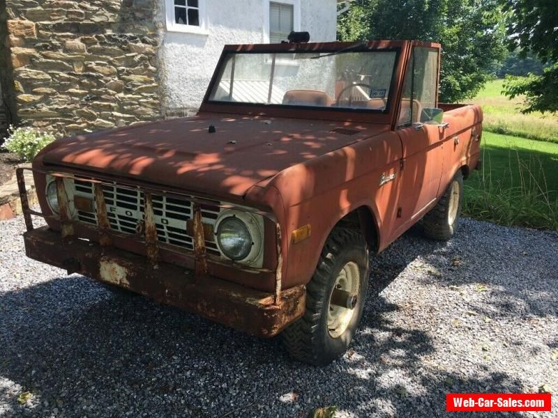 1969 Ford Bronco #ford #bronco #forsale #canada | Ford ...
