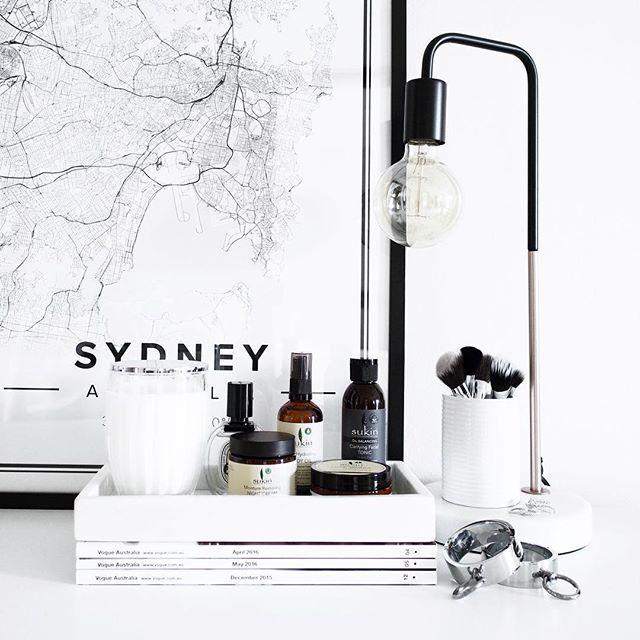 Map poster of sydney australia print size 50 x 70 cm custom black