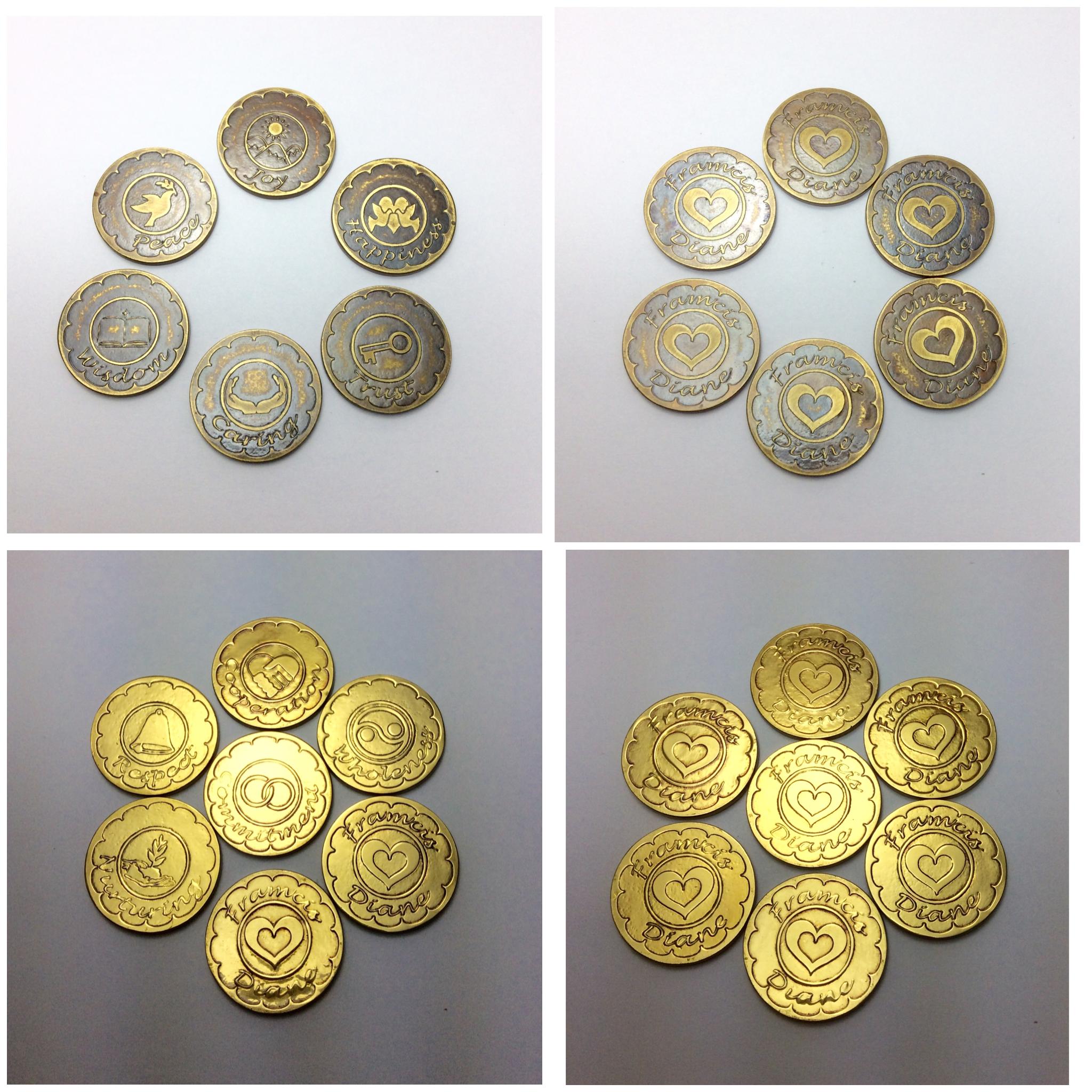 Personalized unity coins wedding arrhae arras 13pcs with symbols personalized unity coins wedding arrhae arras 13pcs with symbols showing the 13 tenets of biocorpaavc