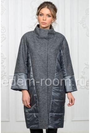 d72062bb8425 Комбинированное пальто | пуховики в 2019 г. | Пальто, Узоры пальто и ...
