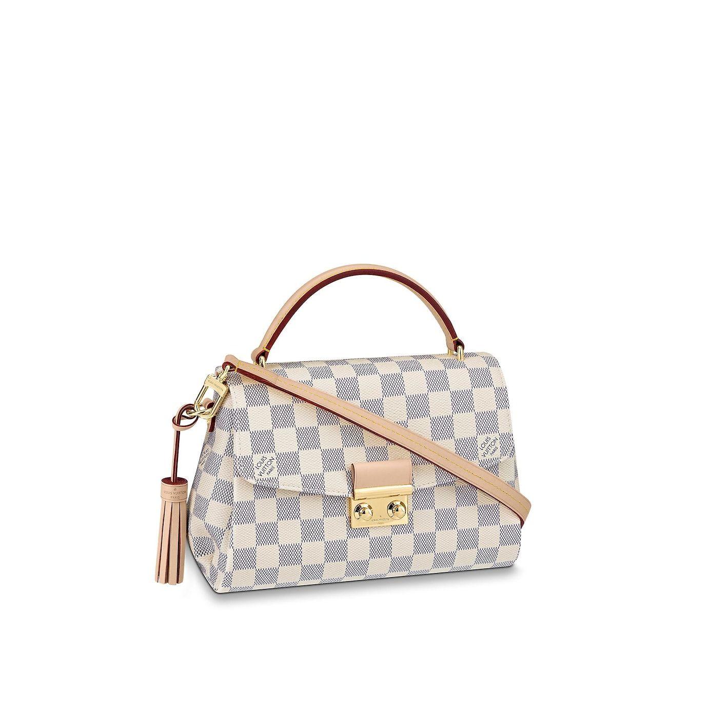 ad61615653 View 1 - Women - Croisette Damier Azur Canvas Women Handbags Top Handles