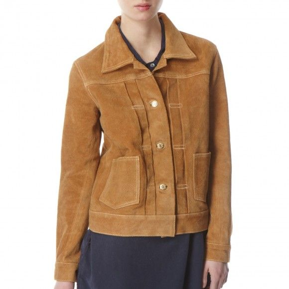 Women's Whisky Type II Suede Jacket