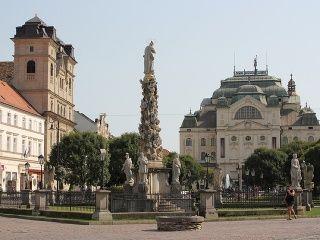 Bohaté centrum mesta Košice