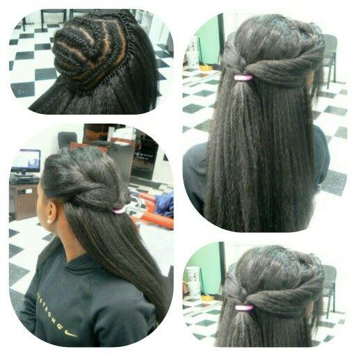 Curly crochet weave Black Girls Hair Pinterest