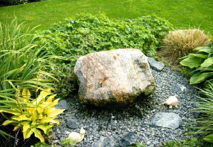 Zu Den Bildern Gartenbrunnen Japanischer Garten Quellstein