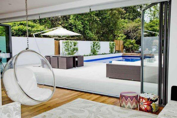unique chair at unique home design interior and minimalist luxury ...