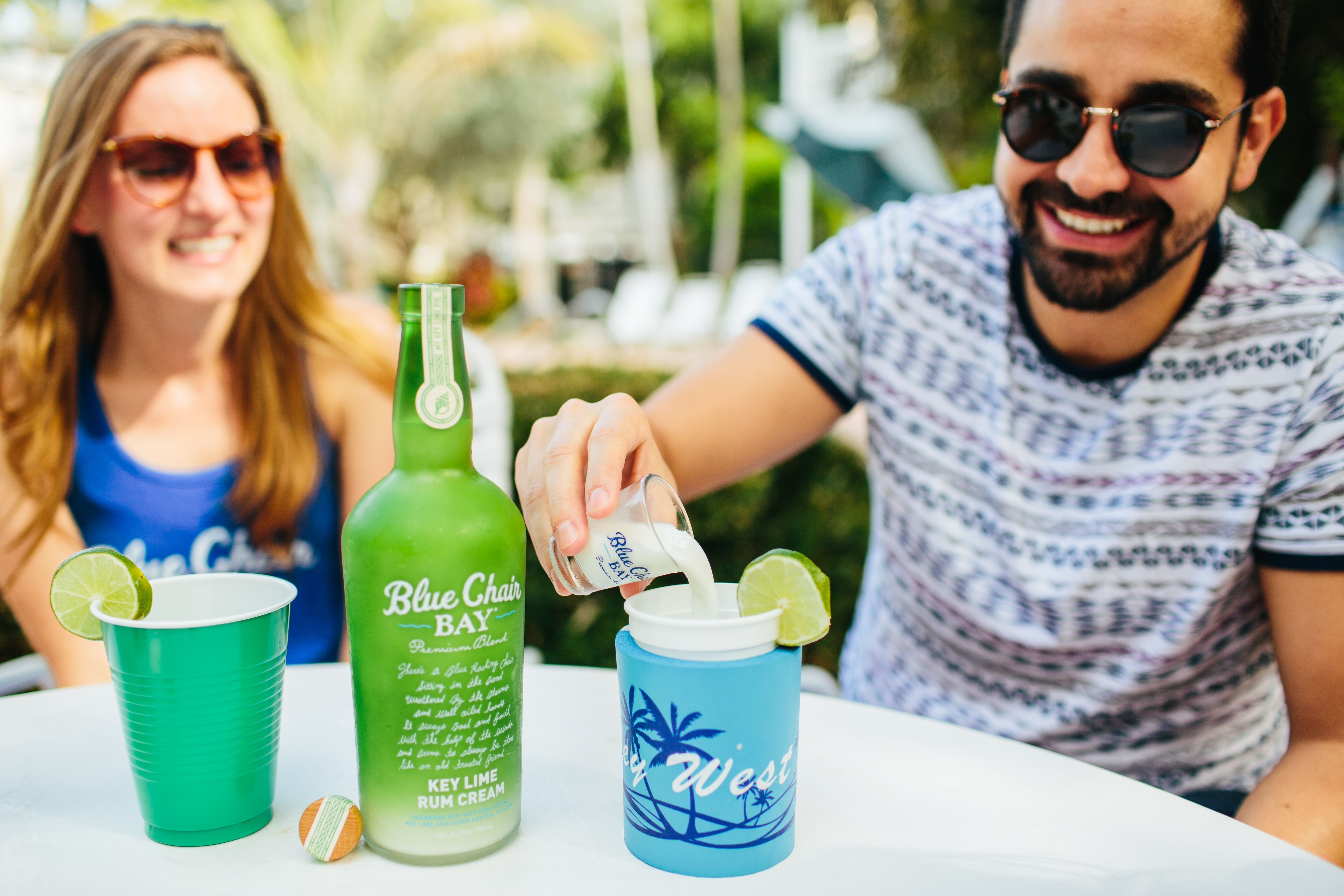 Fizzy lime cocktail 15 oz blue chair bay key lime rum