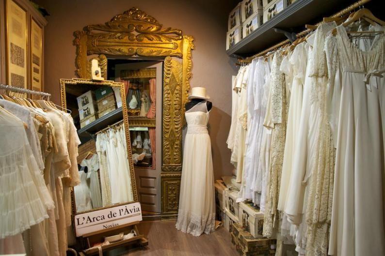larca de lavia vestido novia vintage tienda barcelona 2 | shops