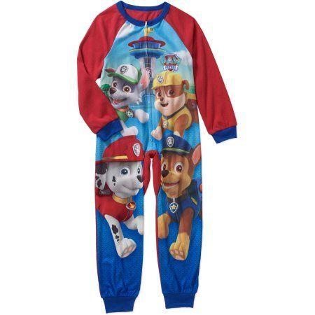 Paw Patrol Boys' Licensed Poly Blanket Sleeper Pajama