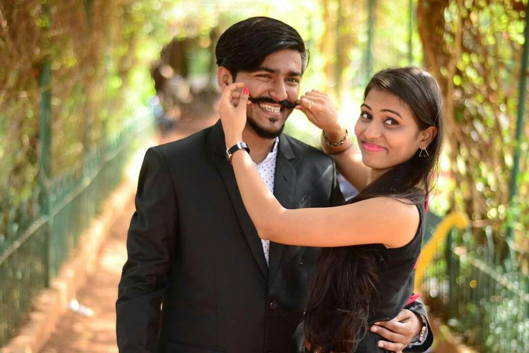 Pre,Wedding shoot with cute couple Yogesh + Pratibha at