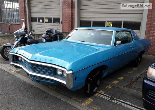 1969 Chevrolet Impala Vin 164479j170157 Chevrolet Impala