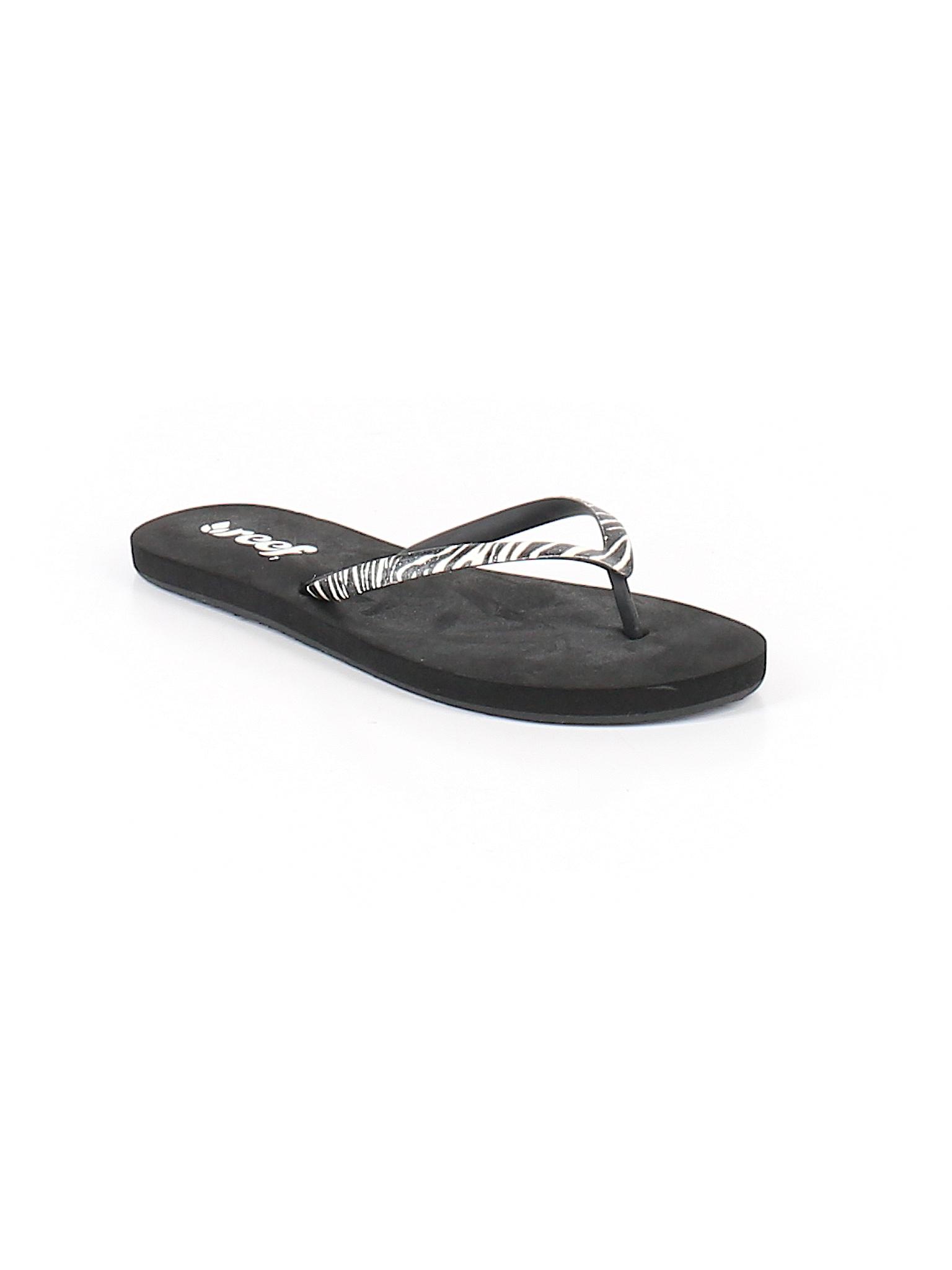 7d42e18d0797 Reef Flip Flops  Size 6.00 Black Women s Clothing -  6.99 Reef Flip Flops