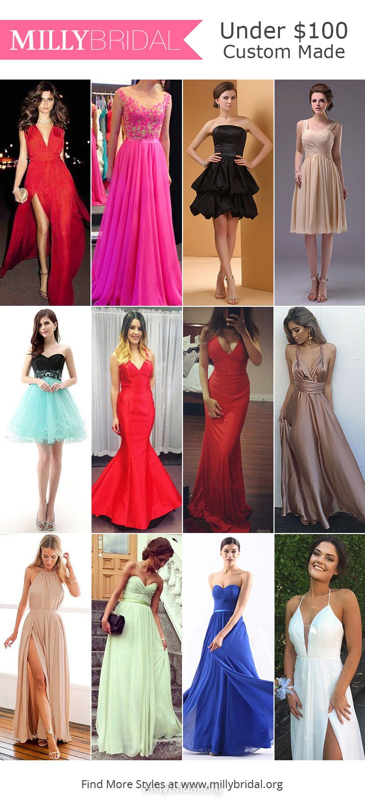 Cheap Prom Dresses Under 100, Prom Dresses Under 100 Long, Prom ...