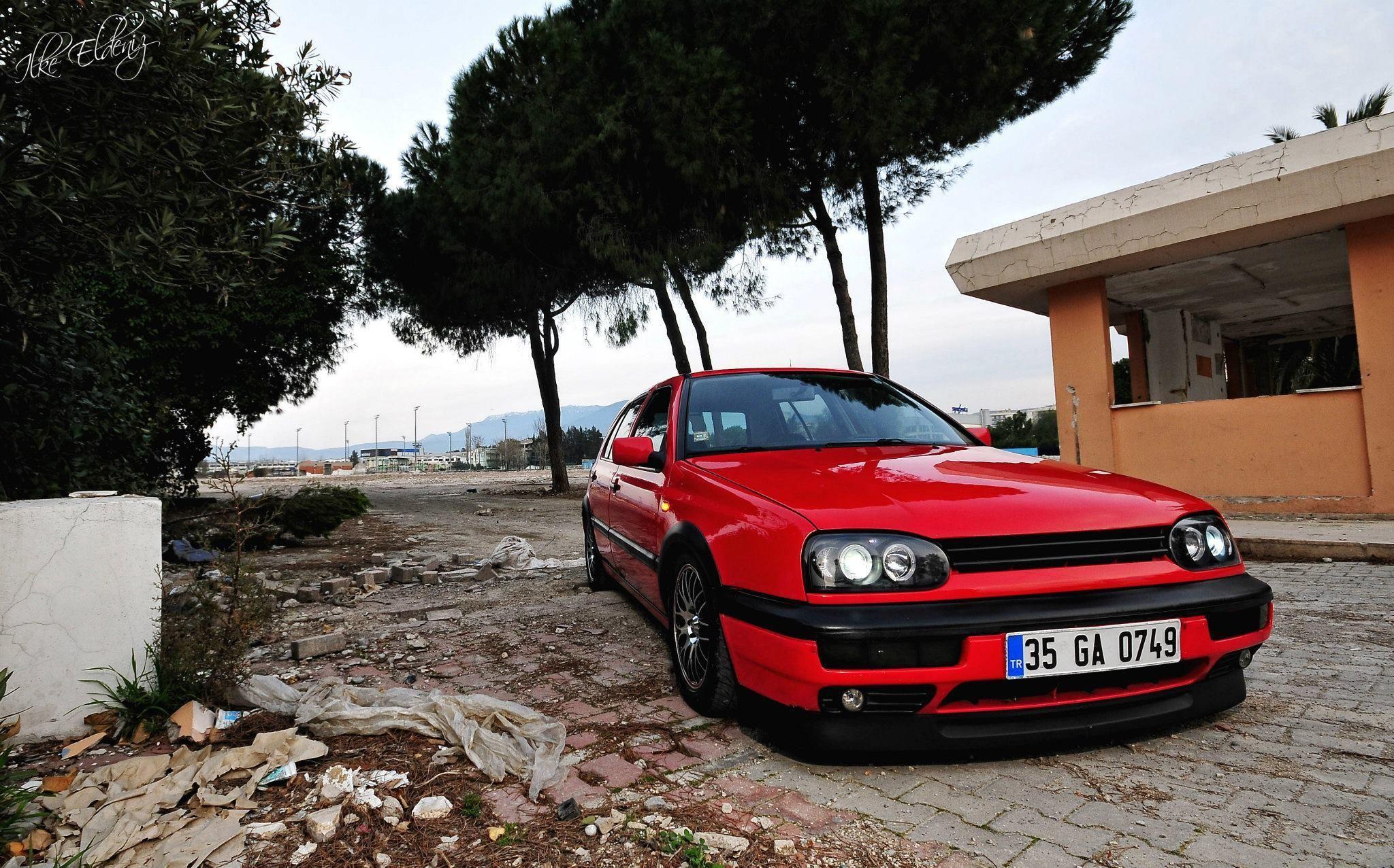 Vw Golf Mk3 Red Vwgolfmk3 Golf Mk3 Vw Golf Vw Golf 3