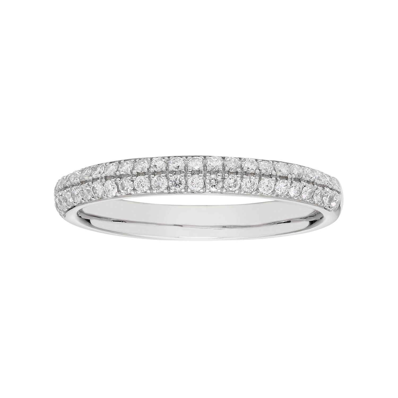 10k Gold 1 3 Carat T W Diamond Pave Wedding Ring Pave Wedding Rings Pave Diamonds 10k Gold