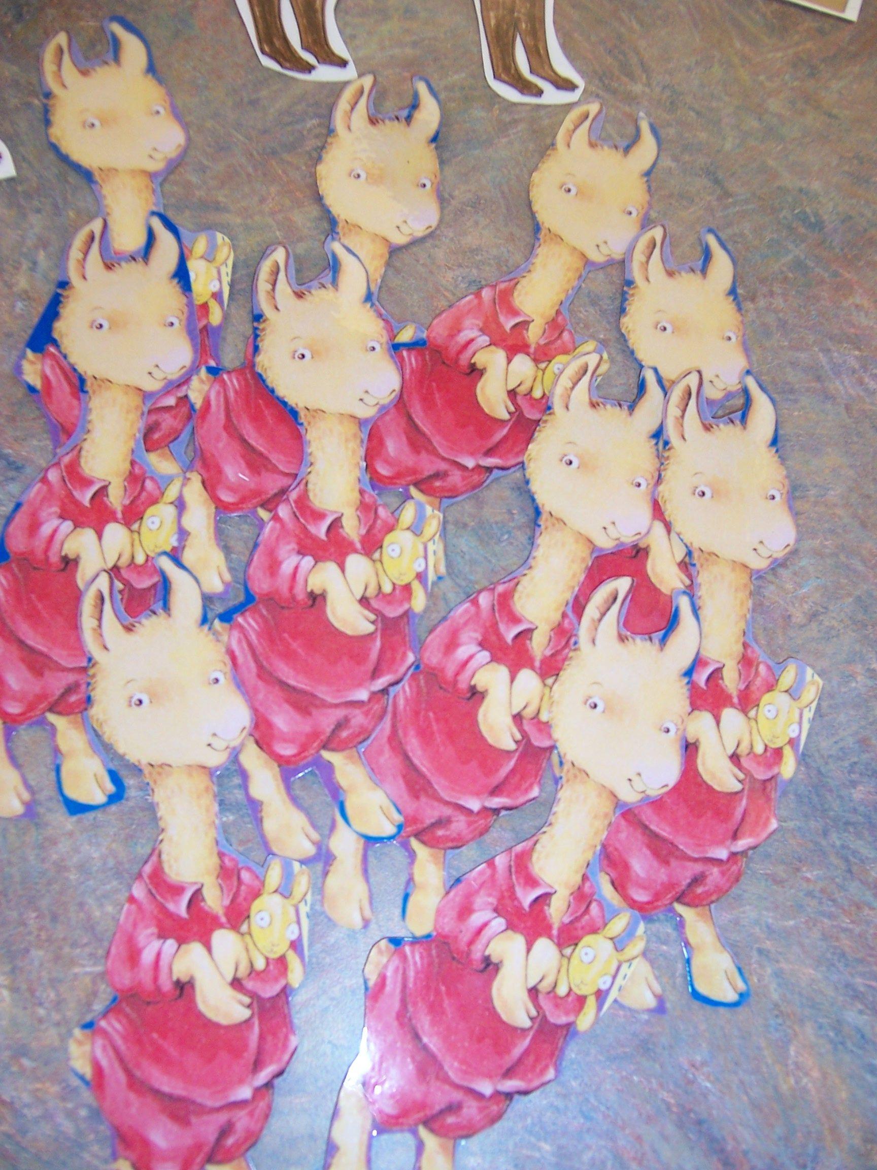 Llama Storytime I Used The Llama Llama Template From The Llama