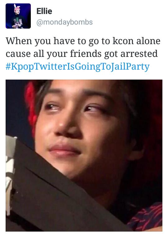 Kpoptwitterisgoingtojailparty K Pop Boy Band Funny Kpop Memes Kpop Memes