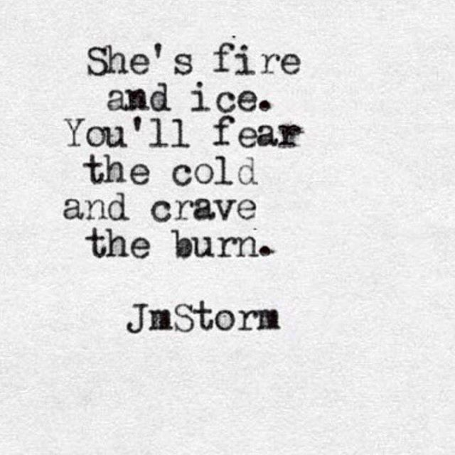 fire and ice✯ // …   my world   Quotes, Poetry quotes ...