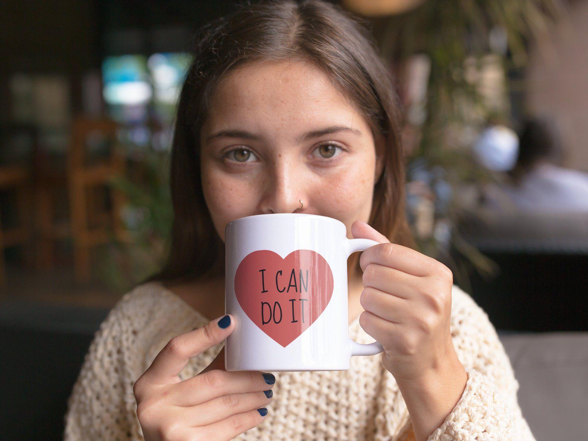 I can do it mug self belief self love mug self