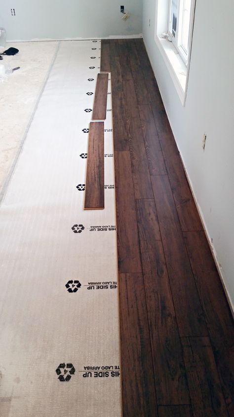 Do It Yourself Floating Laminate Floor Installation House