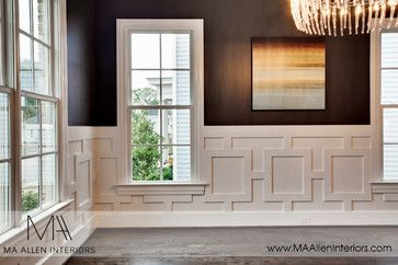 Pin By Rich Lady Problems On For The Home Dining Room Wainscoting Wainscoting Bedroom New Homes