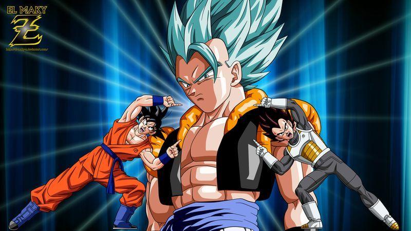 Gogeta Super Saiyan Blue The Ultimate Fusion By El Maky Z On Deviantart Super Saiyan Blue Dragon Ball Super Goku Super Saiyan God