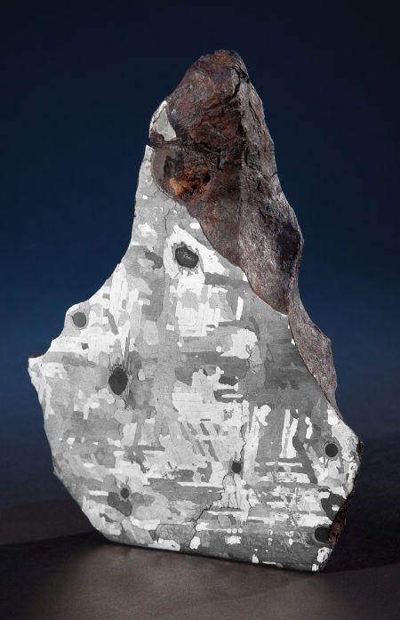 AMERICAN METEORITE Iron coarse octahedrite - IAB-MG Meteor Crater, Coconino County, Arizona, USA - (35° 3'N, 111° 2'W)
