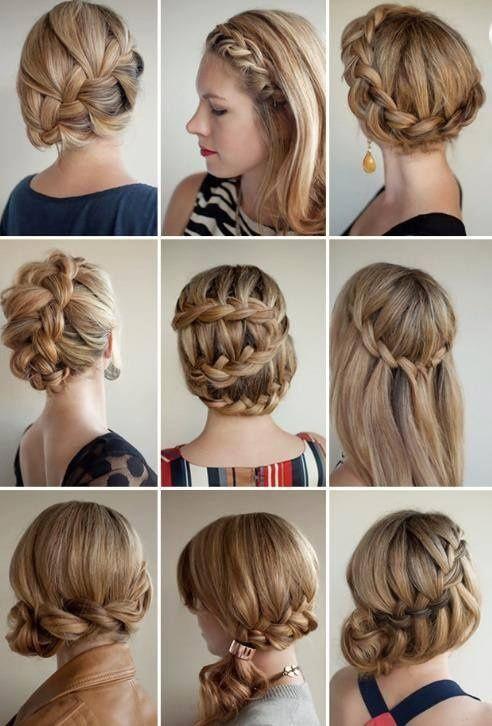 Different Hairstyles So Cute So Easy I Love Experimenting Beauty Diy Hair Hair Romance Hair Styles