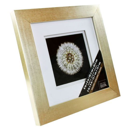 Champagne Gallery Frame with Double Mat by Studio Décor®   New House ...