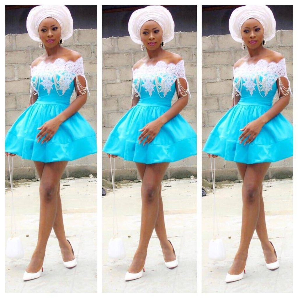 Fascinating Aso-Ebi Styles that will Keep you above Trends ....Be ...