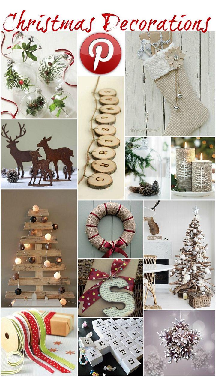 boho pins christmas decorations