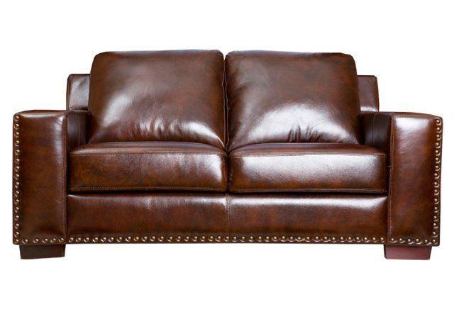 Brilliant Marcus 64 Leather Love Seat Espresso Ignited Leather Machost Co Dining Chair Design Ideas Machostcouk