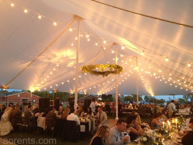 Interior Shot Of The Tidewater Sailcloth Tent   Gorgeous! All Occasions  Event Rental   Cincinnati, Ohio