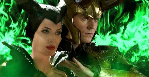 Loki And Maleficent Loki And Maleficent Loki Maleficent