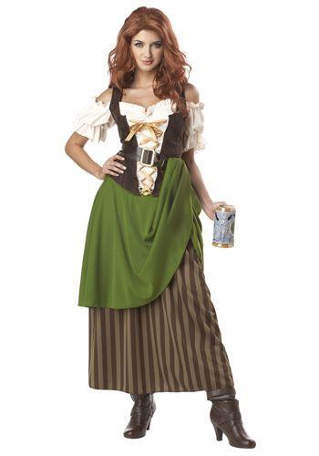 e0ee79488cf2a8 irish dress | Womens Tavern Maiden Costume - Renaissance Faire Costumes  Women
