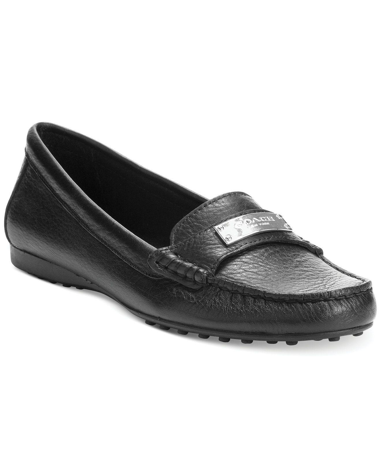 d05f1e1d1e9 COACH FREDRICA LOAFER FLATS - Shoes - Macy s
