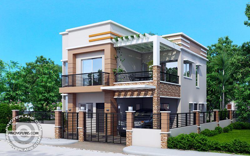 Carlo 4 bedroom 2 story house floor plan Philippines