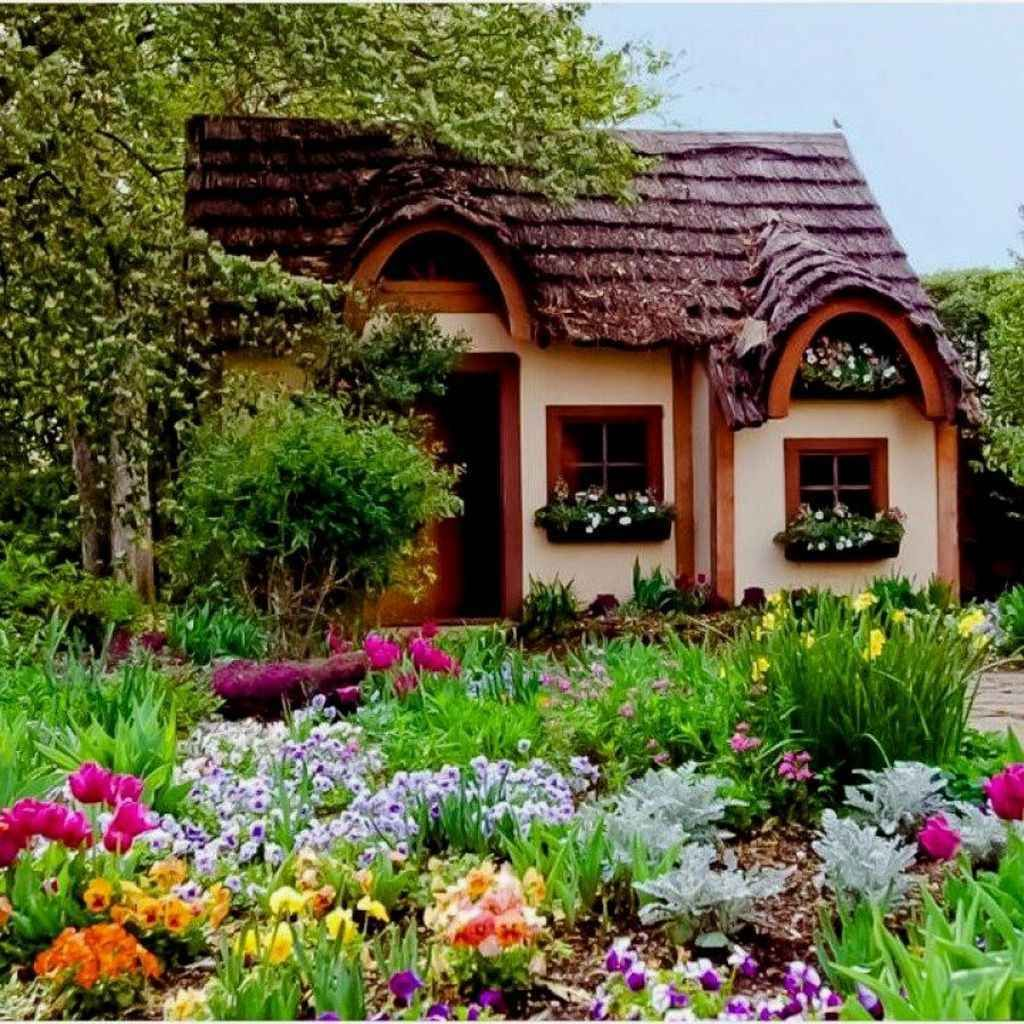 95 Stunning Small Cottage Garden Ideas for Backyard ...