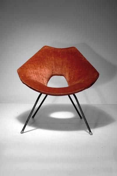 172 Augusto Bozzi Easy Chair Designed C 1956 H 73 Jun 15 2010 Quittenbaum Kunstauktionen Gmbh In Germany Furniture Design Chair Vintage Chairs Chair