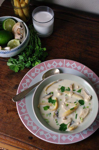 Tom Kha Gay - Coconut Soup