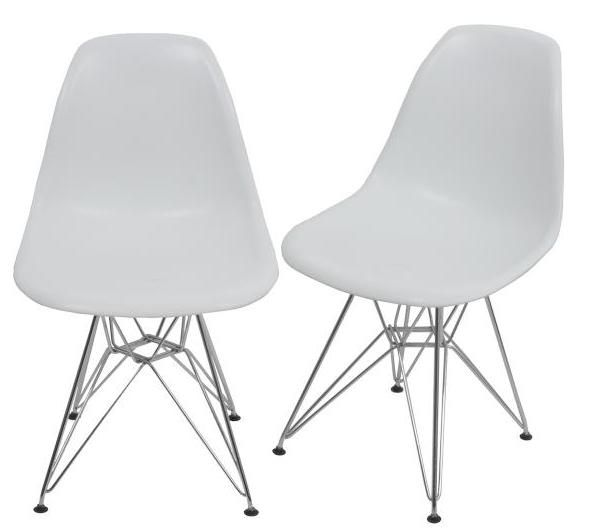 Replica Eames Chair With Metal Leg  I Canu0027t Decide Whether These Or The