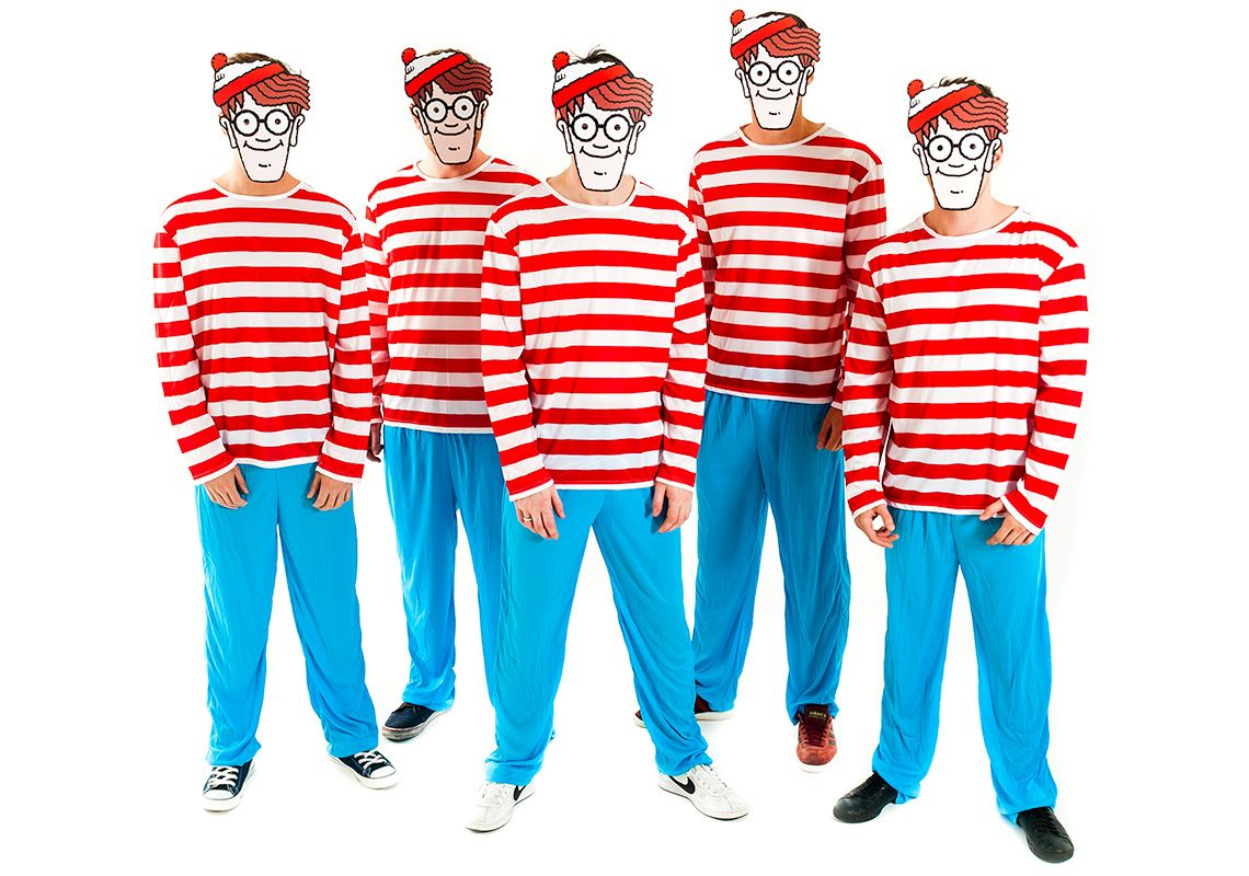 Wheres Wally Costume | Costumes