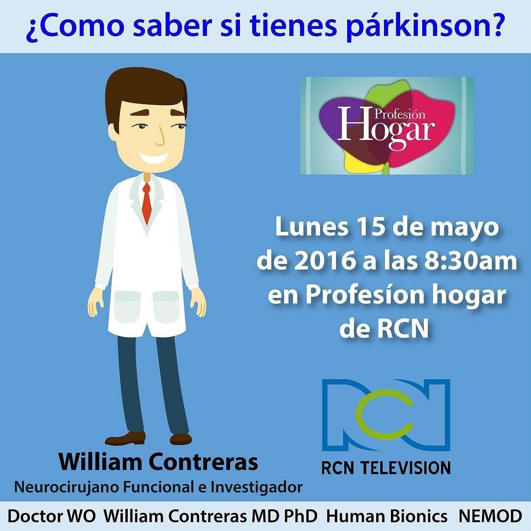 Quieres saber si tienes párkinson?  te esperamos mañana 15 de mayo a las 8:30 am en el @canalrcnoficial en el programa @profesionhogarrcn con @carloscalero29 y @yanethwaldman  @gicwilliam  #Colombia #elgraninventor #luchemoscontraelparkinson #parkinson #WilliamContreras #hablamosdeparkinson #Colombia #Medicina #Ciencia #Bogotá #tecnología #instatech #hightech #ElGranInventorColombia #Reality #Inventor #Emprendedor #Proyecto #Empresario #Investigación #Idea #Exito #Aplicación #App #ElTiempo…