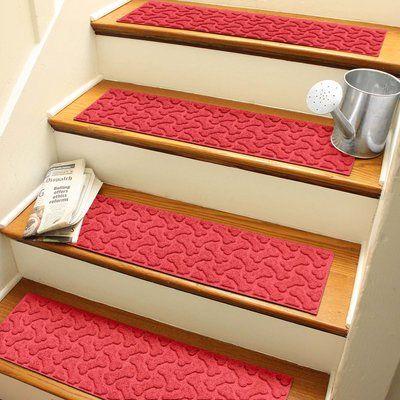Best Tucker Murphy Pet Beauvais Dogbone Repeat Stair Tread 400 x 300