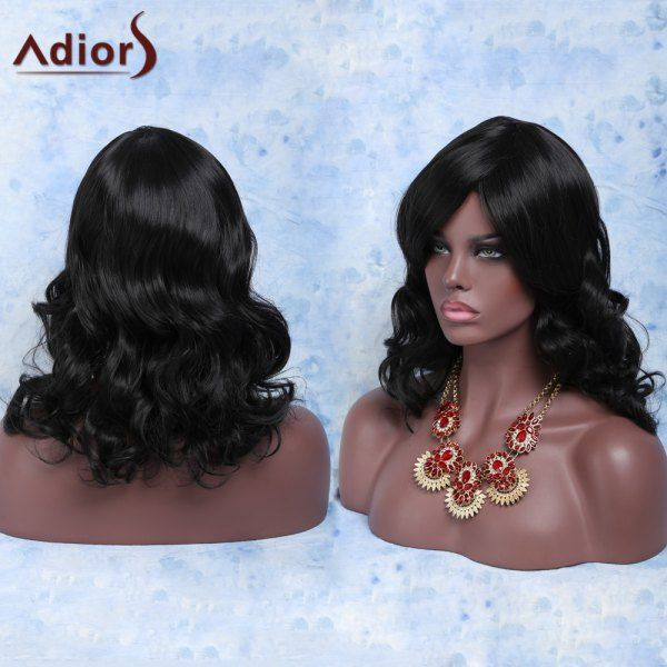Women's Stylish Heat Resistant Fiber Curly Wig #>=#>=#>=#>=#> Click on the pin to check out discount price, color, size, shipping, etc. Save and like it!