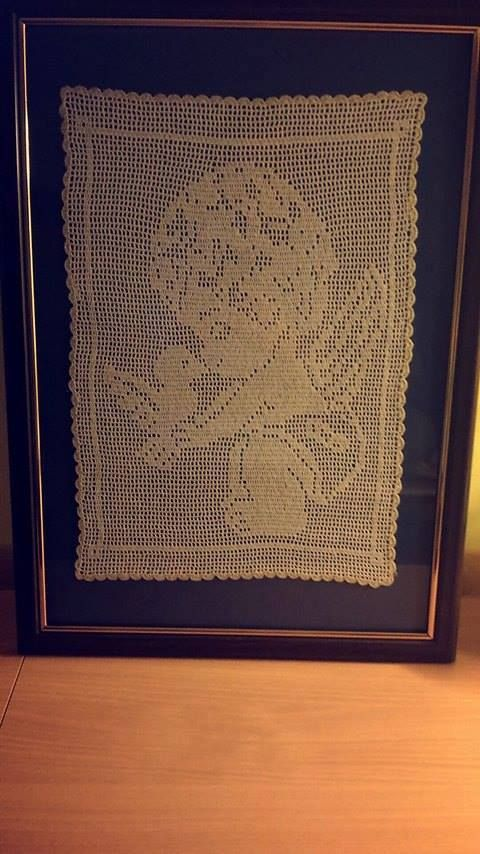 crochet picture angel