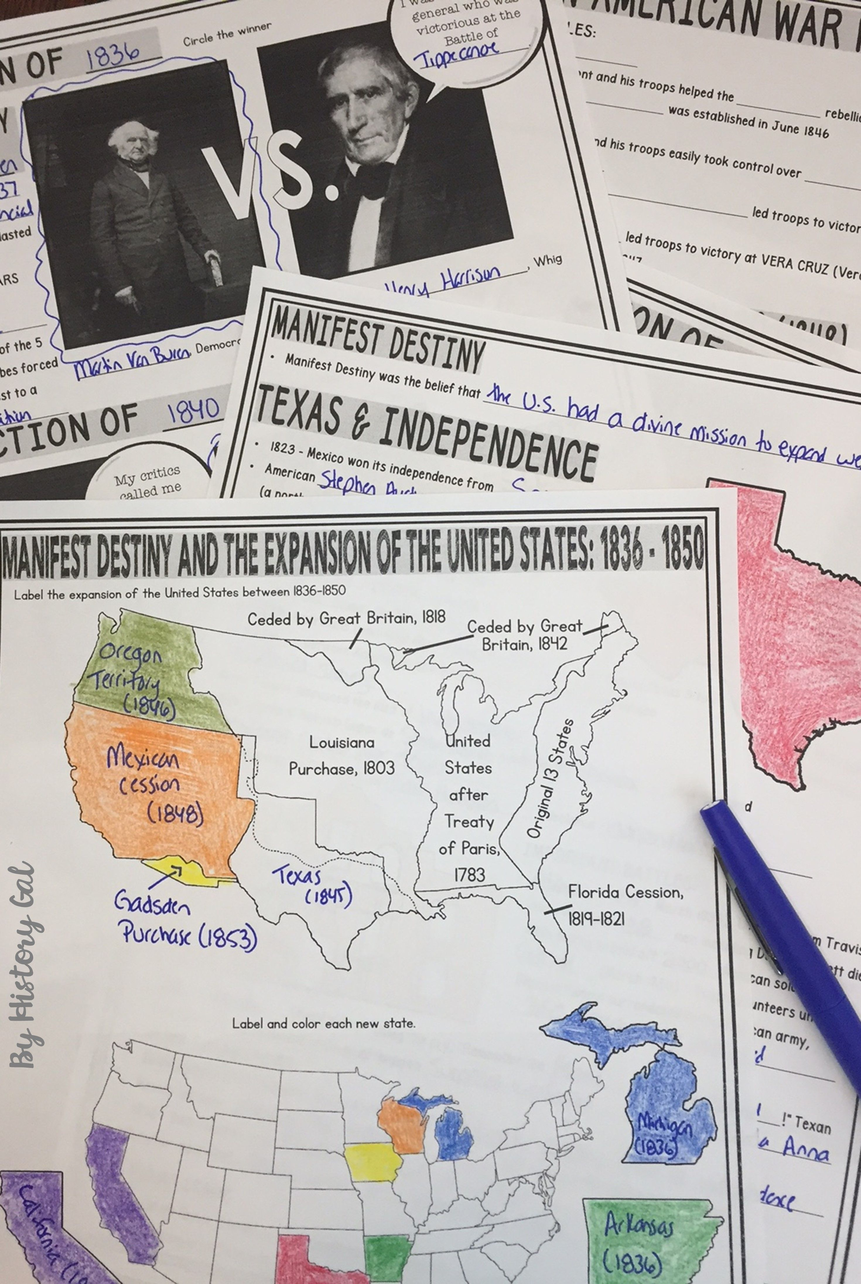 Manifest Destiny & the Expansion of the United States