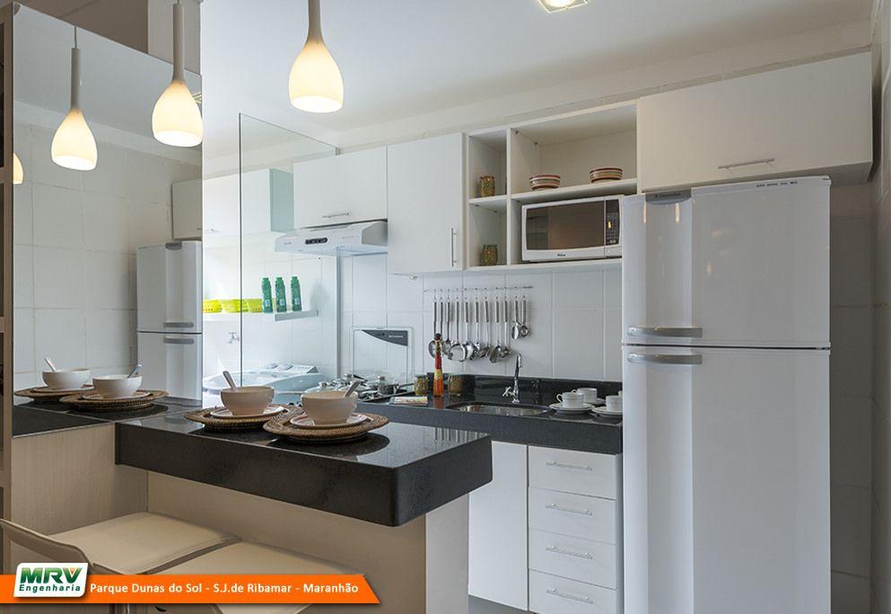 Apartamentos MRV no Maranhão Parque Dunas do Sol  por mrvengenharia  Deco # Cozinha Simples Gnt